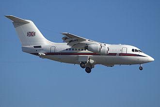 No. 32 Squadron RAF - BAe 146 CC2 in 2008