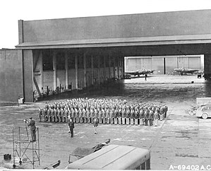 322d Expeditionary Reconnaissance Squadron - Squadron at RAF Bassingborn about early 1944.