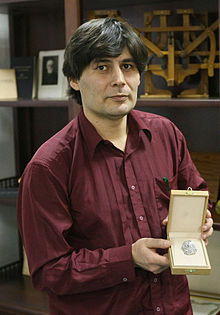 RIAN archive 858309 Nikolai Andreyev, scientist and winner of Russian presidential award for high achievements in creating innovative informational technologies and promoting scientific knowledge.jpg