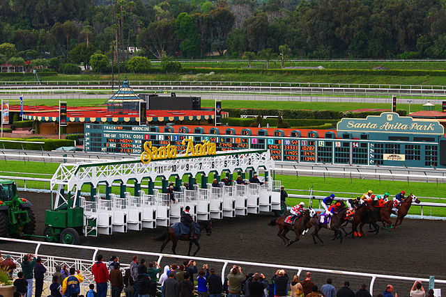 Racing at Santa Anita (3445353797)