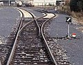 Railway turnout - Oulu Finland.jpg