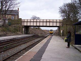Rainford railway station