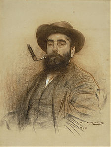 Ramon Casas - Self-portrait - Google Art Project (559678).jpg