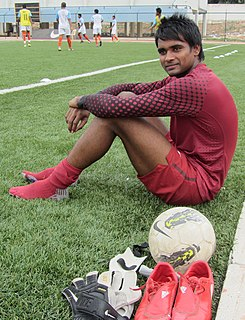 Ravi Kumar (footballer) Indian footballer
