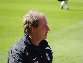 Ray Lewington - Lewington with Fulham in 2009