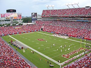 Raymond James Stadium in Tampa (October 2007)