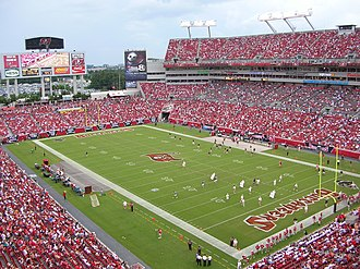 Glazer ownership of Manchester United - Image: Raymond James Stadium 02