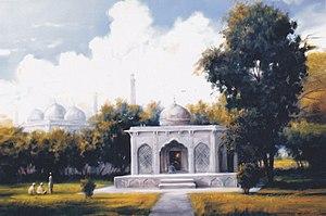 Razia Sultana - Image: Razia sultana tomb painting