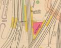 Readville station on 1912 map.png