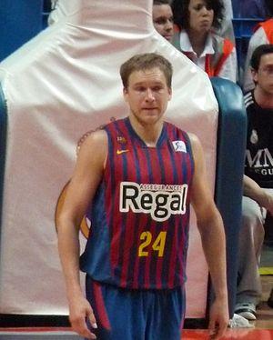 Brad Oleson - Oleson with Barcelona in April 2013.