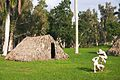 Reconstructed building in the Tainos village in Cuba.jpg