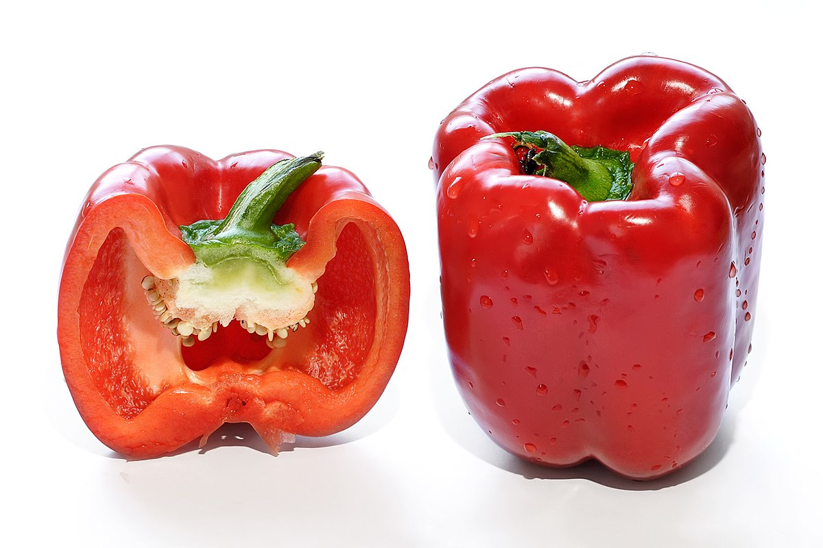 Как сделать болгарский перец красным
