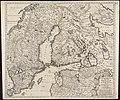 Regni Sueciae tabula generalis, divisa in Sueciae, Gotiaeq(ue) regna Finniae ducatum Lapponiam, Livoniam Ingrianq(ue) et in omnes subiacentes provincias (8343083008).jpg