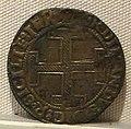 Regno di napoli, ferdinando I, 'coronato' in rame, falso d'epoca.JPG