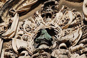 Gregorio Carafa - Image: Relief. Valletta, Malta, Mediterranean Sea