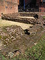 Remains of Roman angle tower, Chester (4).JPG