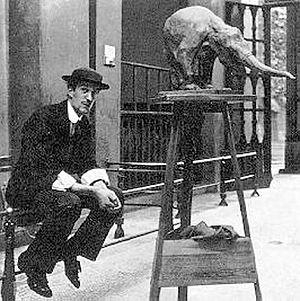 Rembrandt Bugatti - Rembrandt Bugatti at the zoo in Antwerp (1910)
