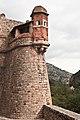 Remparts de Villefranche-de-Conflent, bastion du Dauphin, détail.jpg