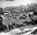 Rendu Glacier, valley glacier, hanging glaciers, and icefall, August 29, 1964 (GLACIERS 5808).jpg