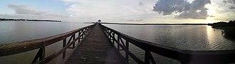 Oldsmar, Florida - Image: Reoldsparkdockpano