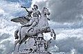 Replica of the Fame riding Pegasus, Paris, France 2012.jpg