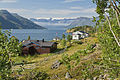 Residential at the eastern part of Øksfjorden, Finnmark, Norway, 2014 August.jpg