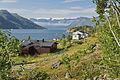 Residential at the eastern part of Øksfjorden, Finnmark, Norway, 2014 August.jpg
