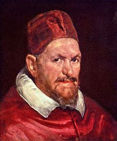Image result for Velazquez pope