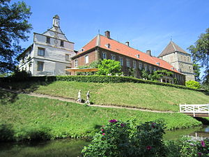County of Bentheim - Image: Rheda Schloss