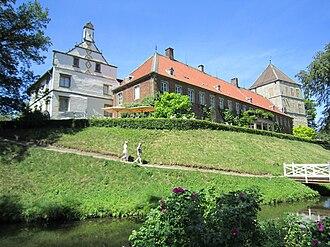 County of Bentheim - Image: Rheda Schloss
