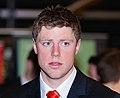 Rhys Priestland. Wales Grand Slam Celebration, Senedd 19 March 2012 Rhys Priestland. Dathliadau Camp Lawn Cymru, Senedd 19 Mawrth 2012.jpg