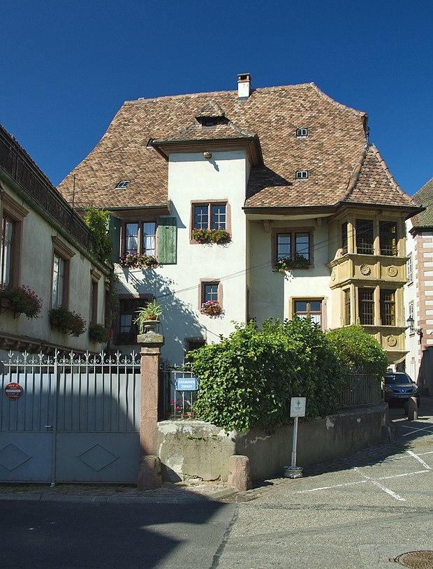 Monument historique à Ribeauville