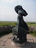 Statue av Dagmar ved Riberhus