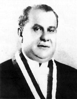 Ricardo Leoncio Elías Arias President of Peru