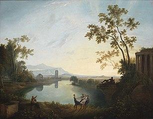 Apollo and the Seasons (Classical Landscape)