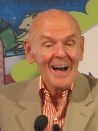 Richard Peck (writer) - Peck at the National Bookfest in 2013