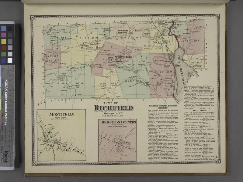 File:Richfield Springs Business Directory. ;Town of Richfield, Otsego Co. N.Y. (Township); Brighton Corners (Village); Monticello (Village) NYPL1602742.tiff