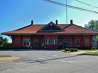 Richland, Georgia - Image: Richland Depot (City Hall) (c. 1890) (Richland, GA)