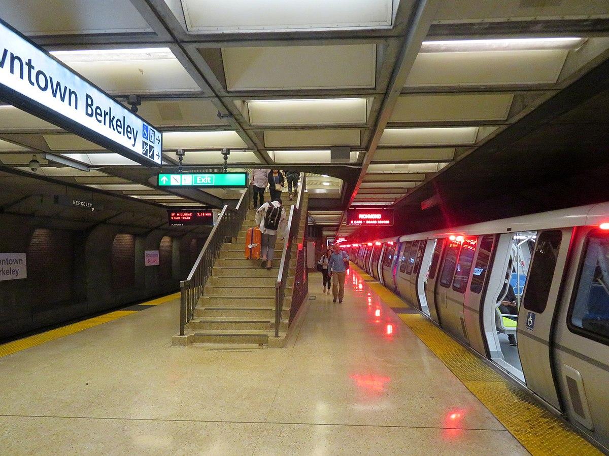 Downtown Berkeley Station Wikipedia
