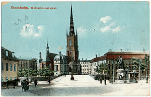Riddarholm Church - Riddarholmskyrkan, early 20th century.