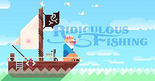 <i>Ridiculous Fishing</i> video game