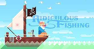 Ridiculous Fishing - Image: Ridiculous Fishing cropped logo