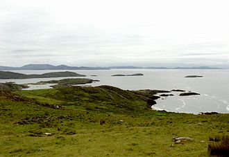 Ring of Kerry - An example of a scenic view along the Ring of Kerry.