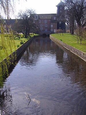 River Burn, Norfolk - Burnham Overy Union Mill.