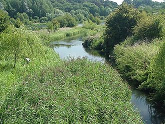 History of Hertfordshire - The River Lea at Amwell