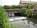 River Wandle, The Causeway weir - geograph.org.uk - 825429.jpg