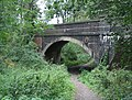 Road bridge over old dismantled railway - geograph.org.uk - 243106.jpg