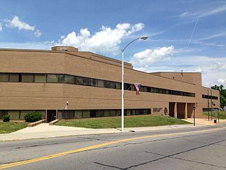 Roanoke County, Virginia - Image: Roanoke County courthouse