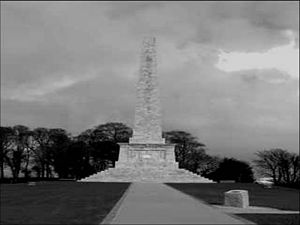 Robert Ross (British Army officer) - Robert Ross Monument, Rostrevor, County Down, Northern Ireland