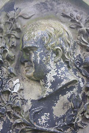 Robert Gilfillan - Robert Gilfillan as shown on his grave, South Leith Parish Church